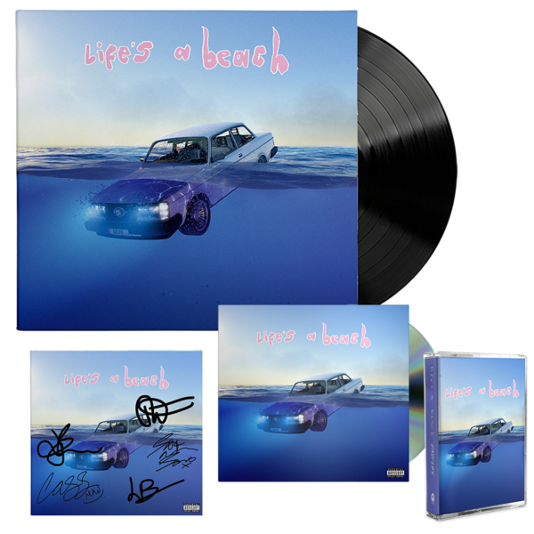 Easy Life: life's a beach: lp, cd, cassette + signed art card