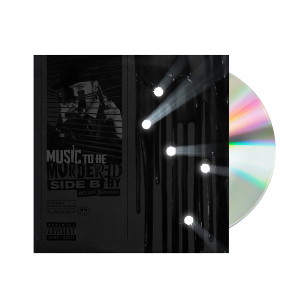 Eminem: LIMITED EDITION MTBMB - SIDE B (DELUXE EDITION) CD - UK EXCLUSIVE COVER ART
