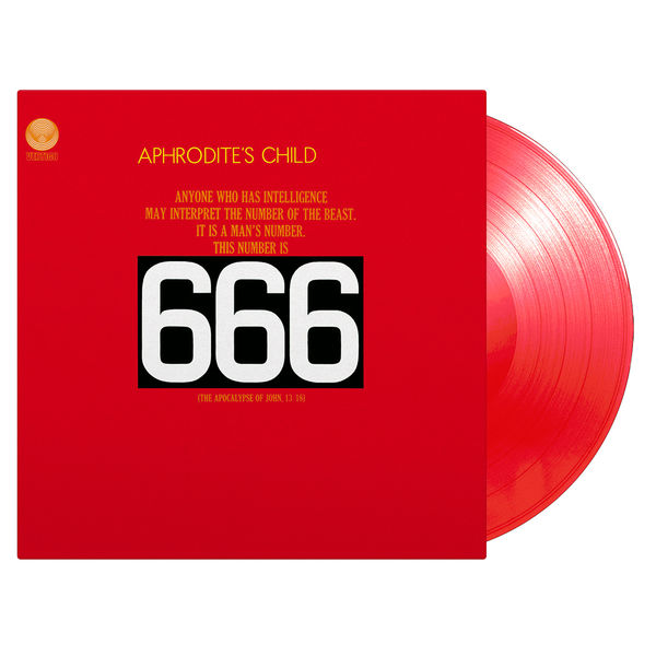 Aphrodite's Child: 666: Red Numbered Vinyl