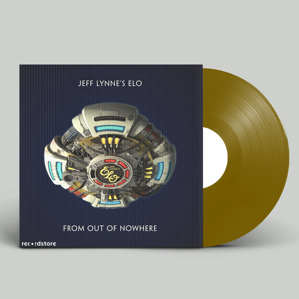 Jeff Lynne's ELO: From Out Of Nowhere: Limited Edition Gold Vinyl with Lenticular Cover