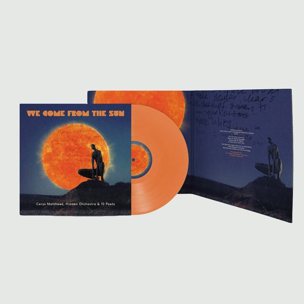 Cerys Matthews: We Come From The Sun: Signed Orange Vinyl