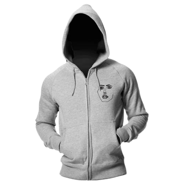 Disclosure: The Face: Grey + Black</br> Hoodie