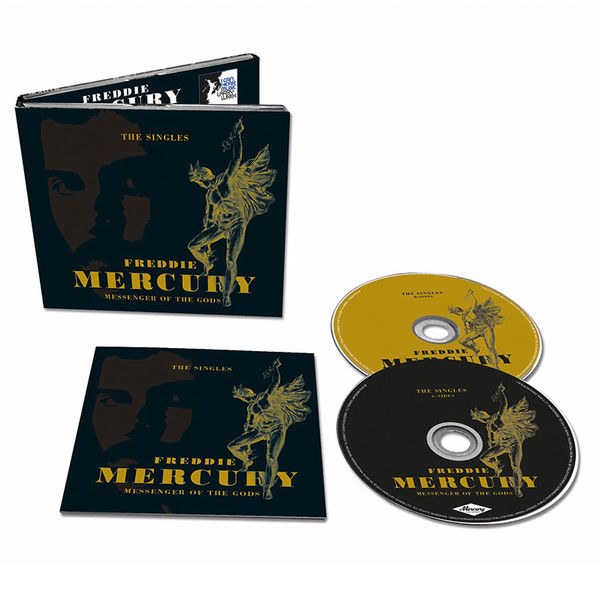 Freddie Mercury: Messenger Of The Gods: The Singles (2CD)