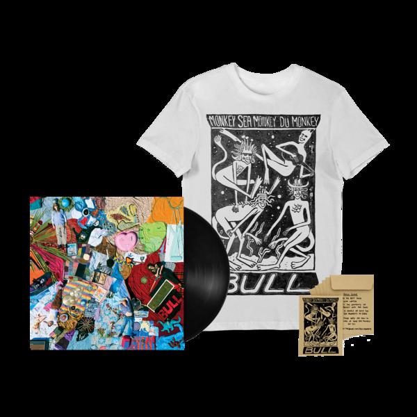 Bull: Monkey Sea Monkey Dü Monkey' T-shirt, Vinyl + Free Sea Monkey bundle!