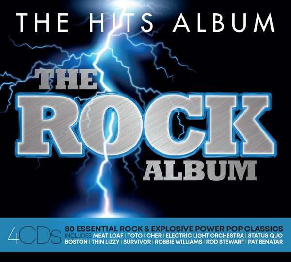 Various Artists: THE HITS ALBUM: THE ROCK ALBUM