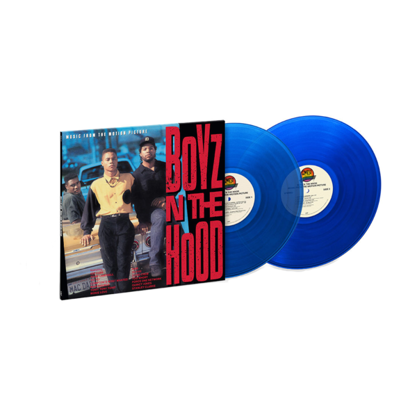 Various Artists: Boyz N The Hood: Exclusive Translucent Blue Vinyl