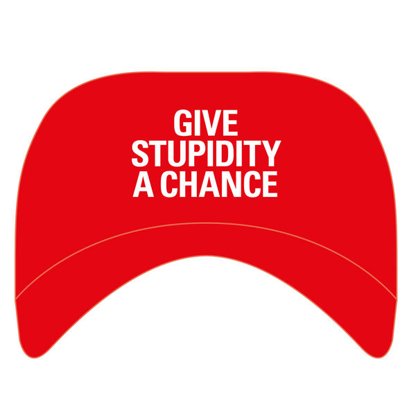 Pet Shop Boys: Give Stupidity A Chance Baseball Cap
