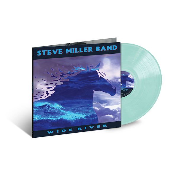 Steve Miller Band: Wide River: Exclusive Translucent Light Blue Vinyl
