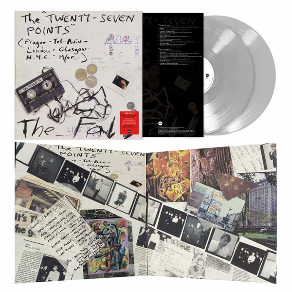 The Fall: The Twenty-Seven Points: Limited Edition Clear Vinyl