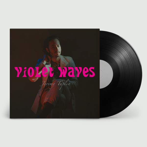 Jeremy Tuplin: Violet Waves: Limited Black Vinyl