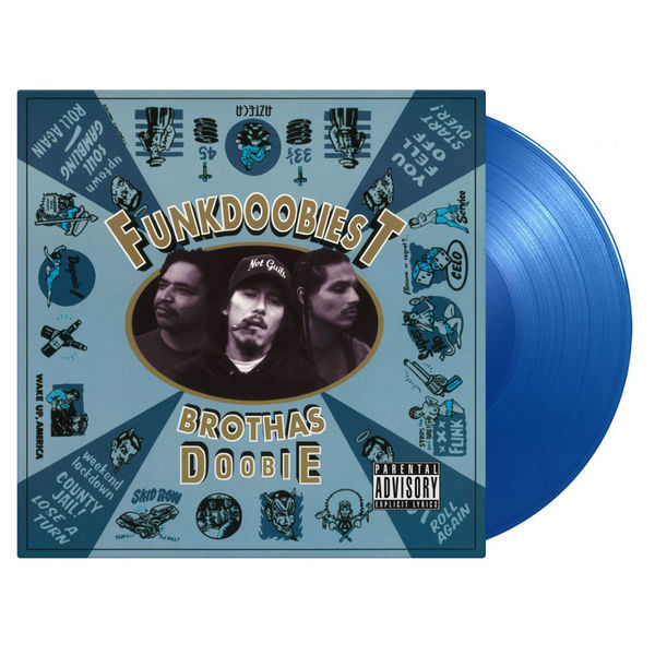 Funkdoobiest: Brothas Doobie: Limited Edition Blue Vinyl