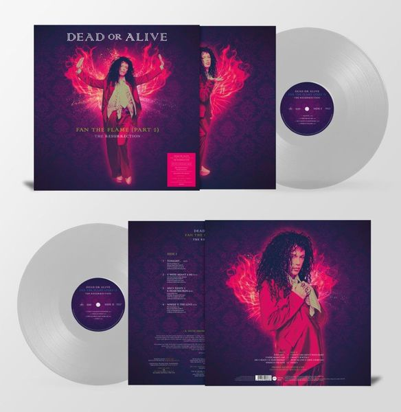 Dead Or Alive: Fan The Flame (Part 2) - The Resurrection : Limited Edition Clear Vinyl