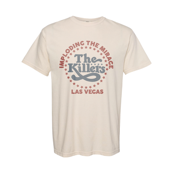 The Killers: ITM Star Logo T-Shirt (Beige)