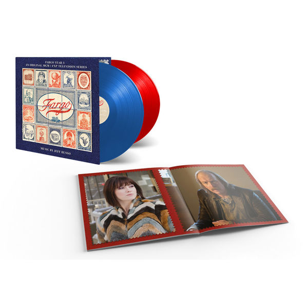 Jeff Russo: Fargo Season 3: Red & Blue Numbered Vinyl