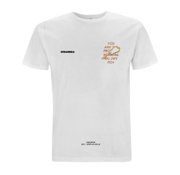 Michael Kiwanuka: Michael Kiwanuka Mirror T-Shirt White