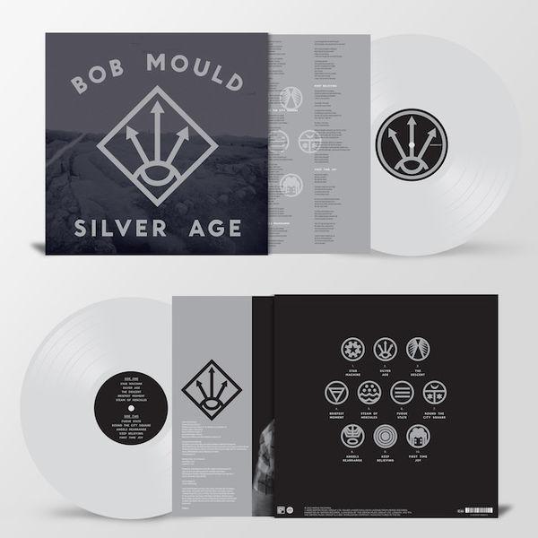 Bob Mould: Silver Age: Limited Edition Heavyweight Silver Vinyl