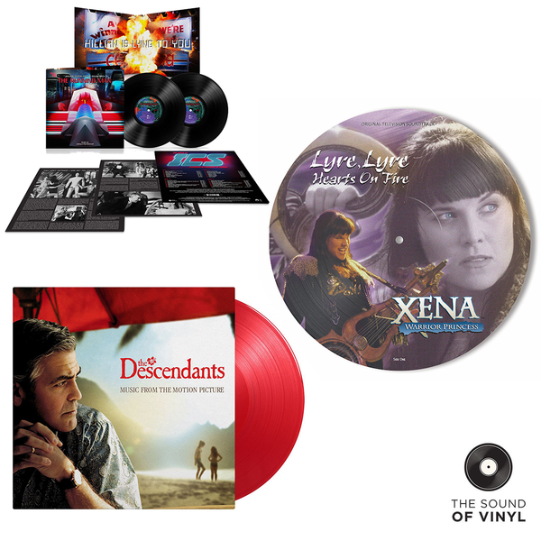 Various Artists: The Sound Of... The Movies: Deluxe Colour Vinyl Editions Exclusive Bundle