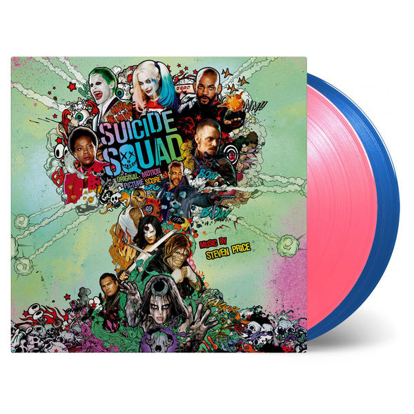Original Soundtrack: Suicide Squad: DC Comics Limited Edition Pink & Blue Vinyl