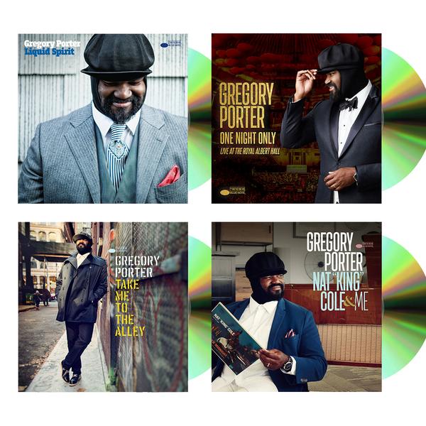 Gregory Porter: Gregory Porter 4 CD fan bundle