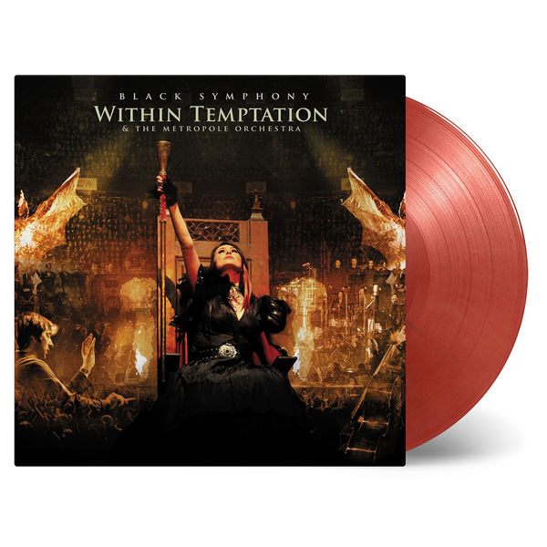 Within Temptation: Black Symphony: Gold + Red Marbled Vinyl
