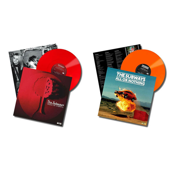 The Subways: The Sound Of... Young For Eternity & All Or Nothing Colour Vinyl Bundle