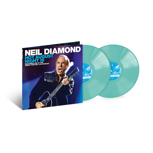 Neil Diamond: Hot August Night III: Exclusive Blue Double Vinyl