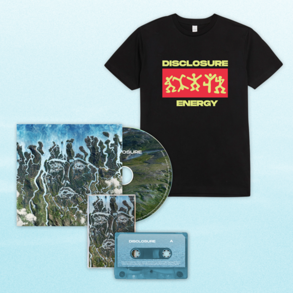 Disclosure: CD, Cassette + Energy Dancing Tee