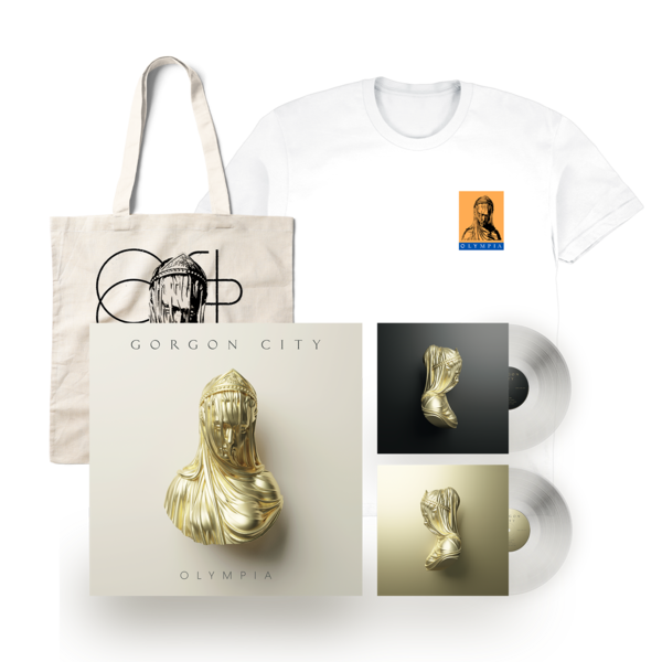 Gorgon  City: Olympia LP Tote & T-shirt