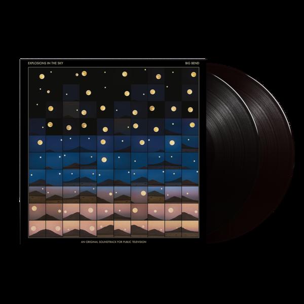 Explosions In the Sky: Big Bend (An Original Soundtrack For Public Television): Black Vinyl 2LP