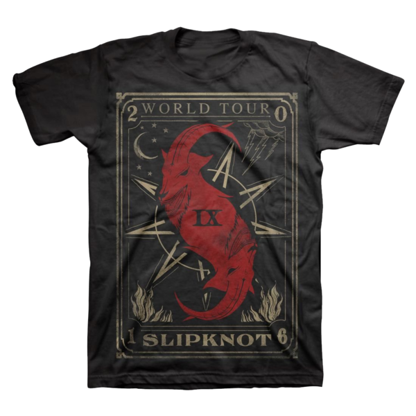 Slipknot: Tarot Card World Tour T-Shirt