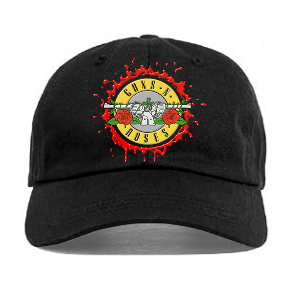Guns N' Roses: Bloody Bullet Dad Hat