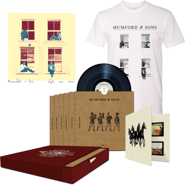 "Mumford & Sons : Sigh No More Limited Edition 7"" Bundle"