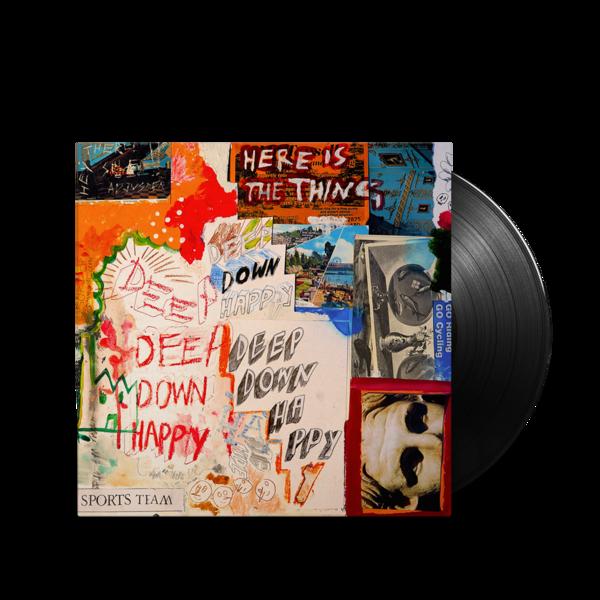 Sports Team: Deep Down Happy: Standard Vinyl