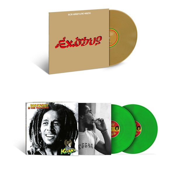 Bob Marley: The Sound Of Bob Marley: Exodus & Kaya 40 Limited Edition Colour Vinyl Bundle