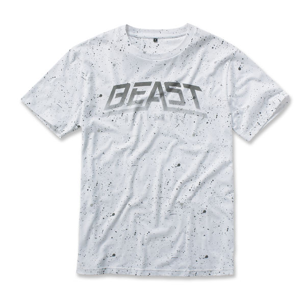 Beast Worldwide: Paint Splat T-shirt (White)