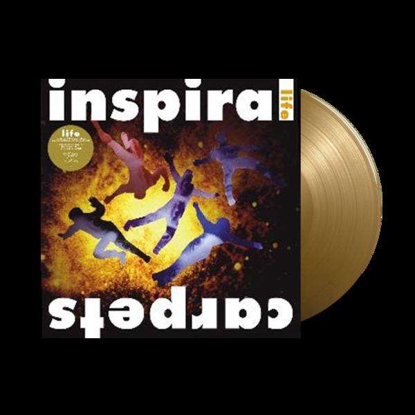 Inspiral Carpets: Life: Limited Gold Colour Vinyl LP