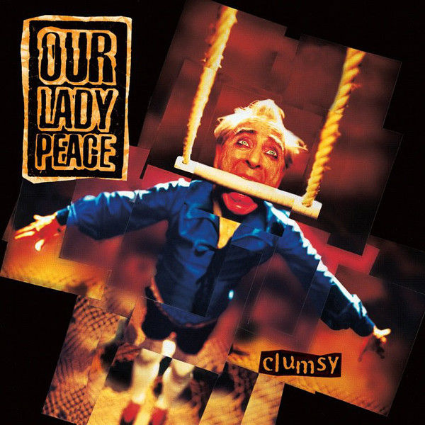 Our Lady Peace: Clumsy: White & Black Marbled Vinyl LP
