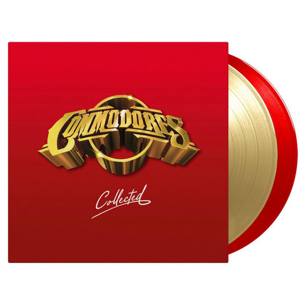 The Commodores: Collected: Commodores Double Gold + Red Numbered Vinyl