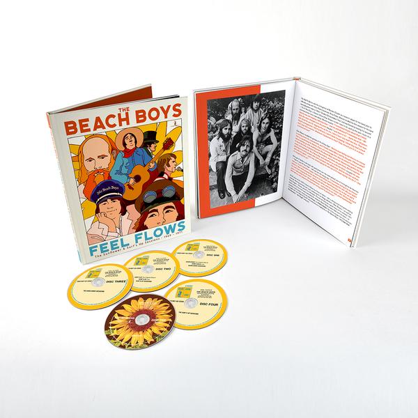 The Beach Boys: Feel Flows: The Sunflower & Surf's Up Sessions 1969-1971: 5CD