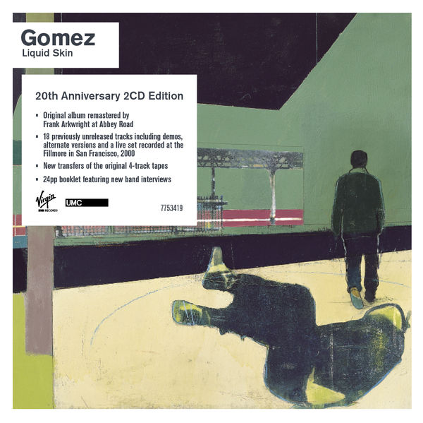 Gomez: Liquid Skin 20th Anniversary Edition 2CD