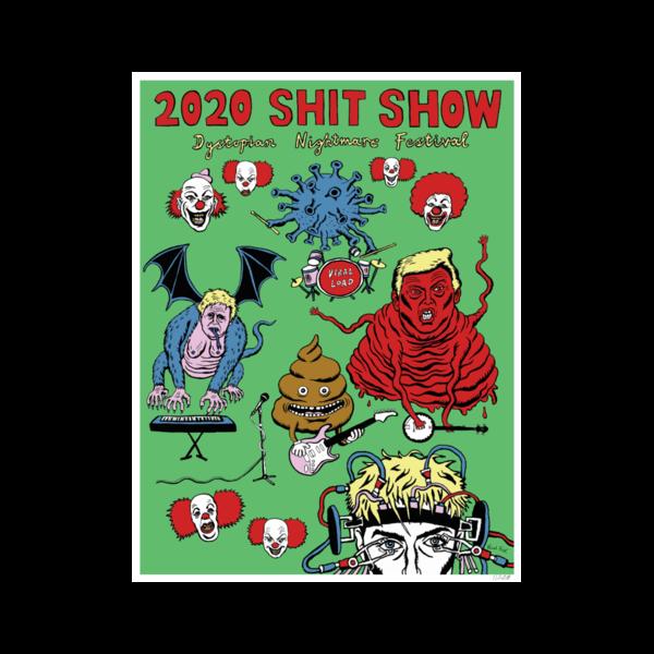 Sam Fender: Shit Show Numbered Poster