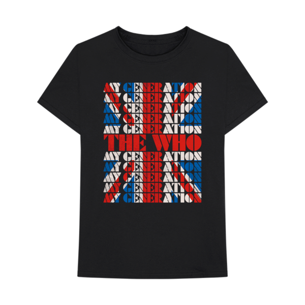 The Who: My Generation Union Jack Tee
