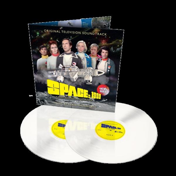 Original Soundtrack: SPACE: 1999 – YEAR TWO: Limited Edition Luna White Vinyl 2LP