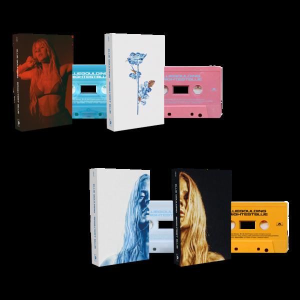 Ellie Goulding: Brightest Blue Tape Deck + Signed Artcard