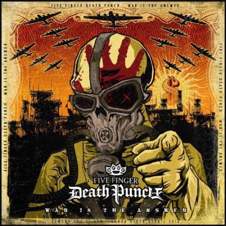 Five Finger Death Punch: War Is The Answer: Beer Coloured Gatefold Vinyl