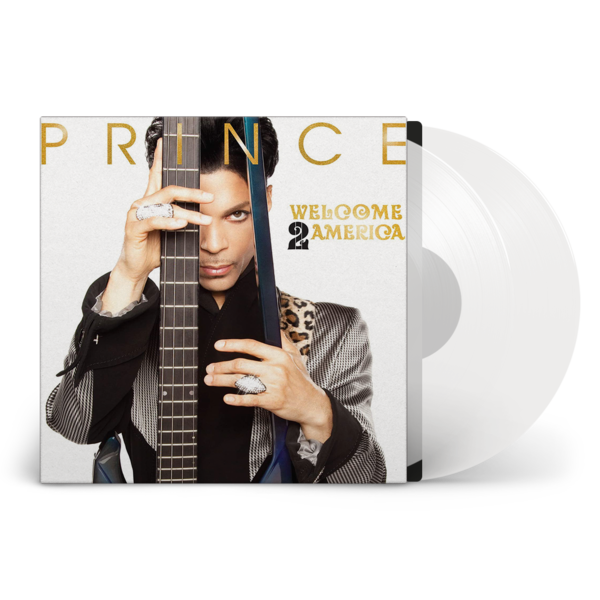 Prince: WELCOME 2 AMERICA: Limited Edition Clear Vinyl 2LP