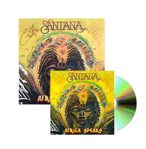 Santana: Africa Speaks CD + Litho