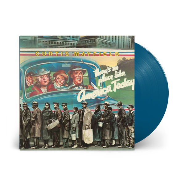 Curtis Mayfield: There's No Place Like America Today: Limited Edition Blue Vinyl LP