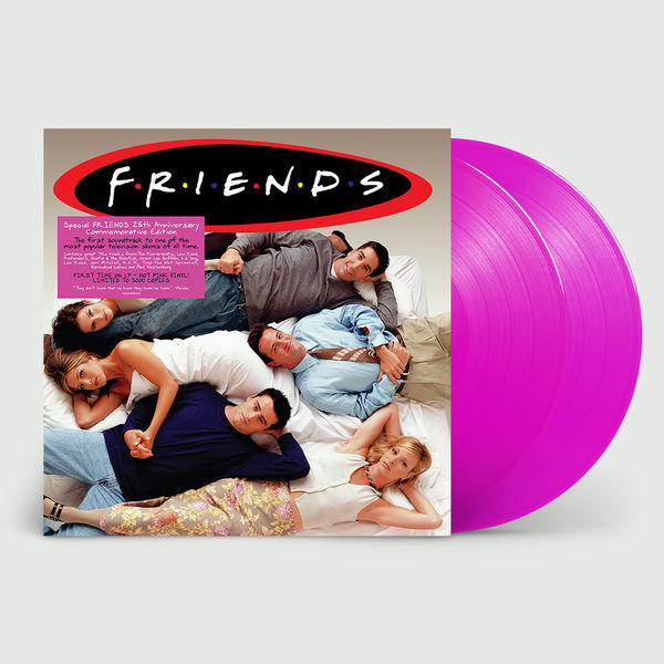 Original Soundtrack: Friends: 25th Anniversary Edition Pink Vinyl + Etched D-Side
