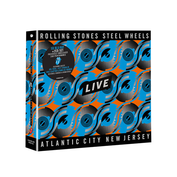 The Rolling Stones: Steel Wheels Live SD Blu-Ray + 2CD